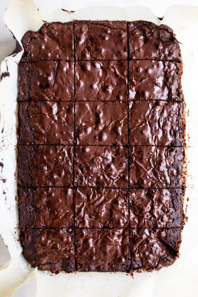 Double Chocolate Fudge Brownies