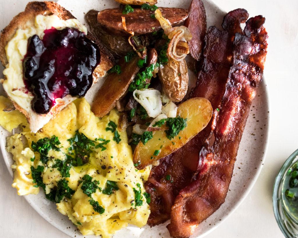 The Ultimate Scrambled Egg Breakfast