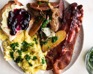 The Ultimate Scrambled Egg Breakfast