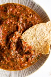 Charred Pepper Salsa