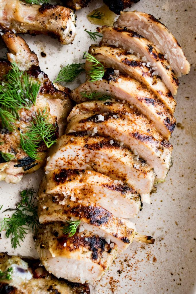 Garlicky Grilled Chicken