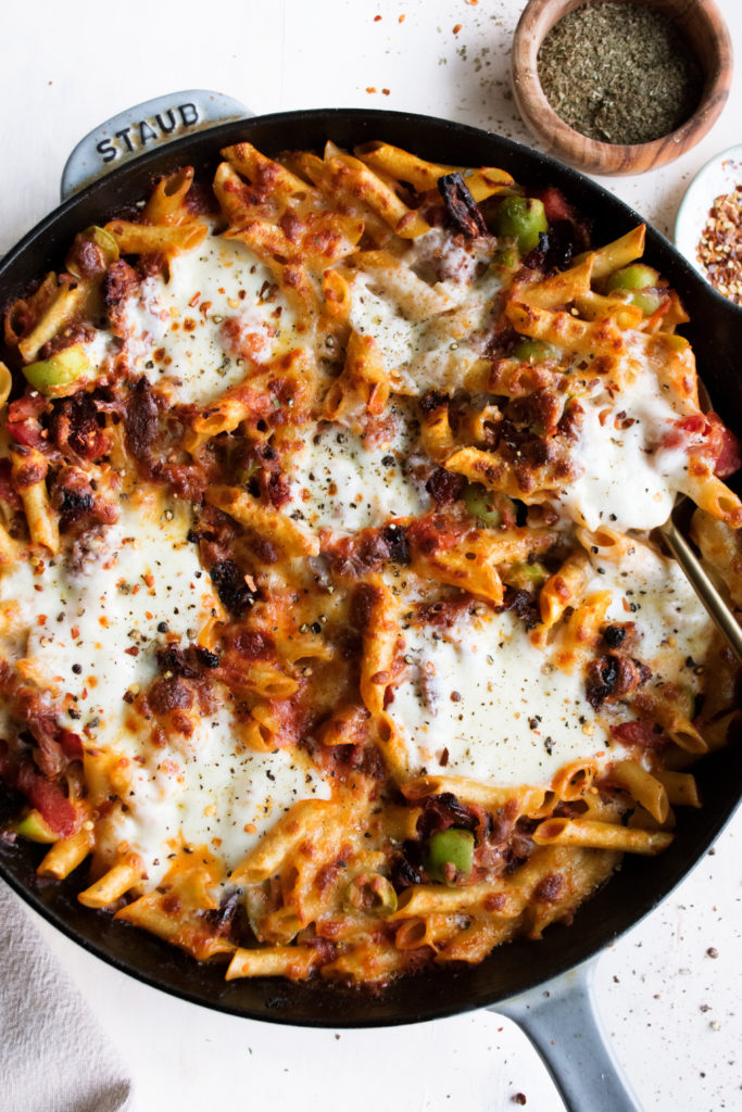 Pantry Baked Mostaccioli