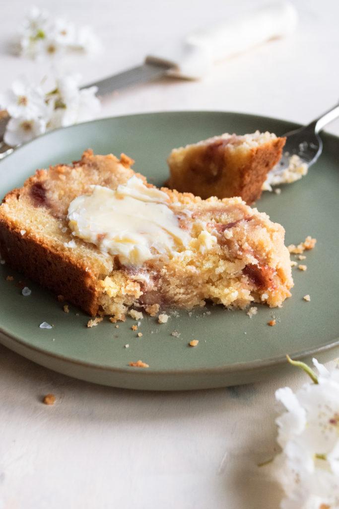 Strawberry Jam Coffee Cake