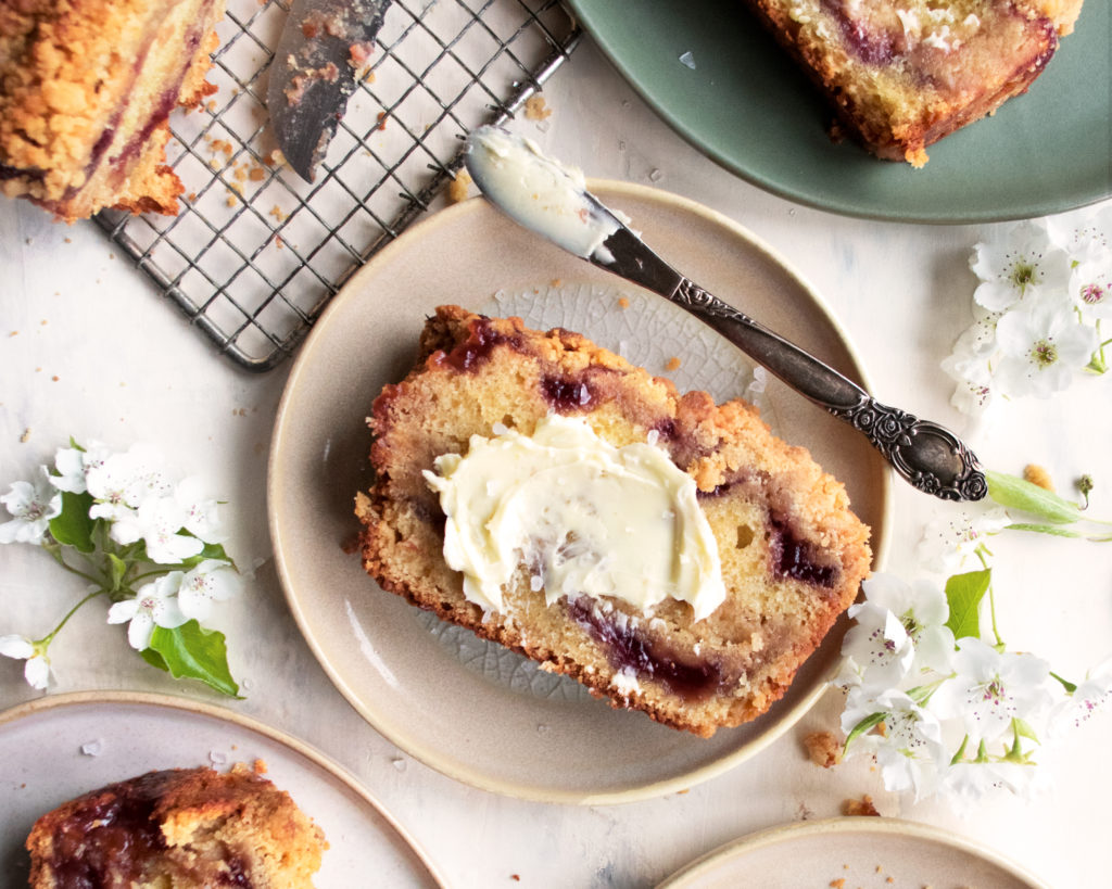 Strawberry Jam Coffee Cake
