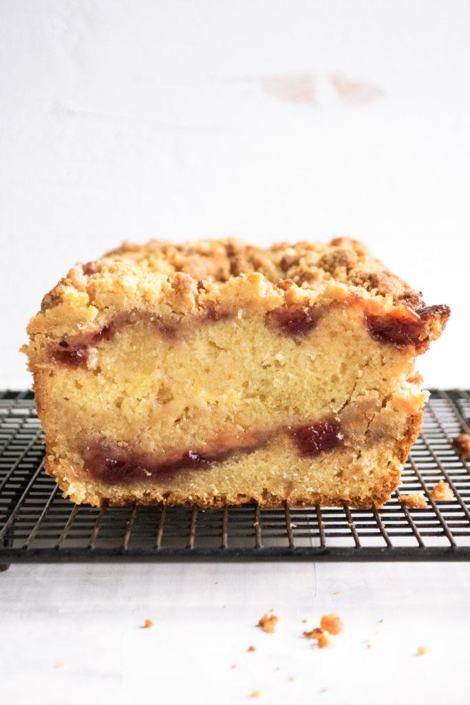 coffee cake loaf