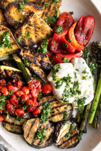 Grilled Vegetables with Chimichurri