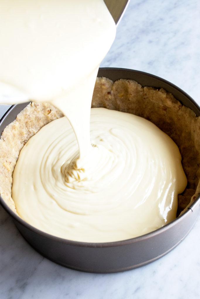 Nonna's Classic Cheesecake