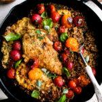 Herby Brown Butter Chicken & Farro