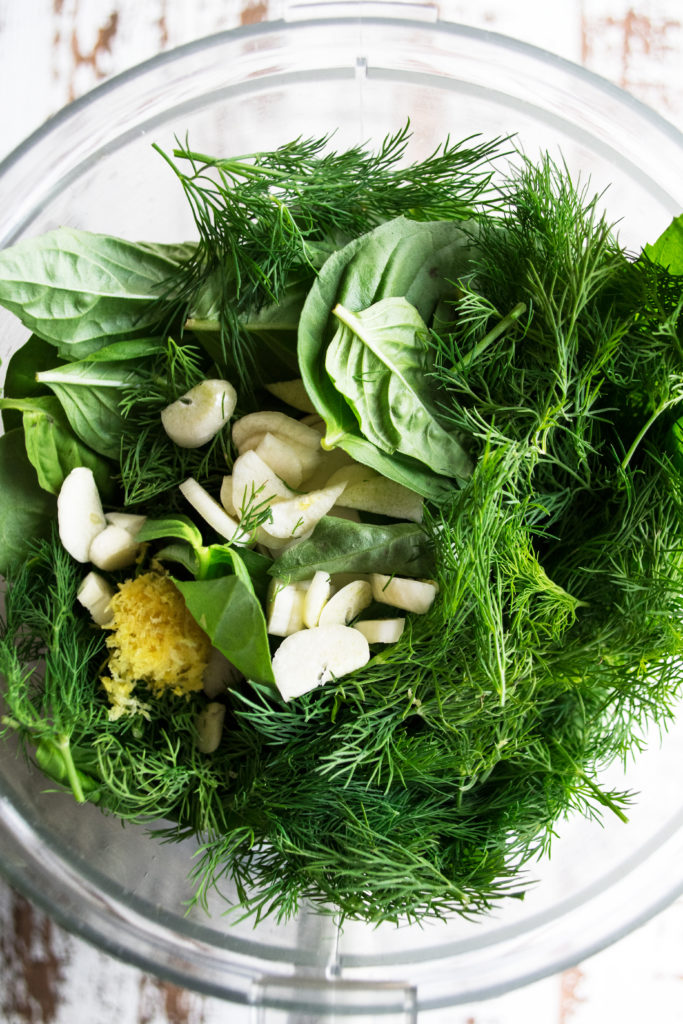 green goddess dressing ingredients