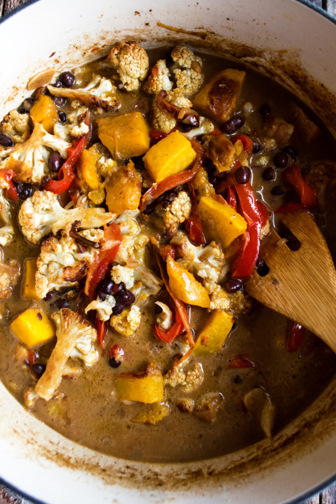 Black Bean Coconut Stew