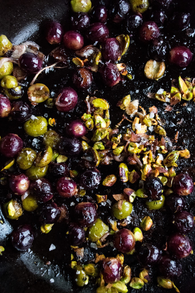 grape & olive mixture