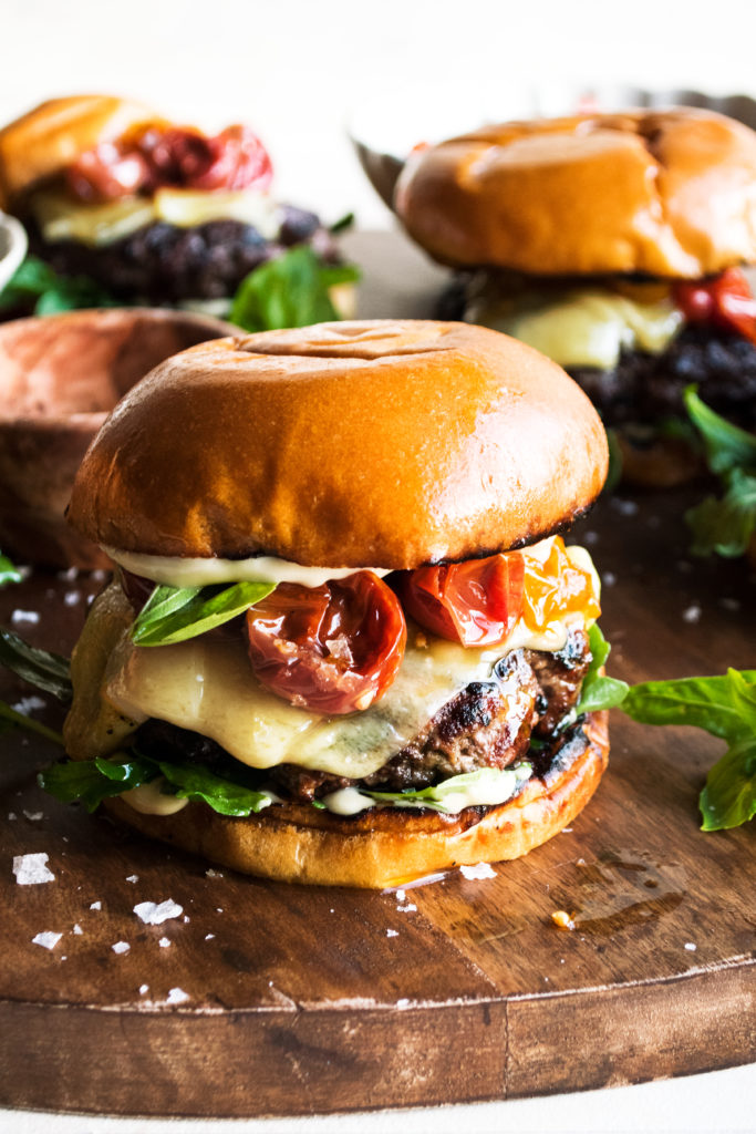 Roasted Tomato Burger