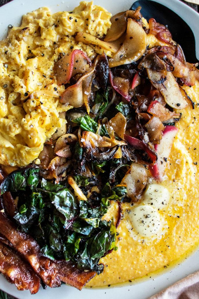 Polenta Breakfast Platter