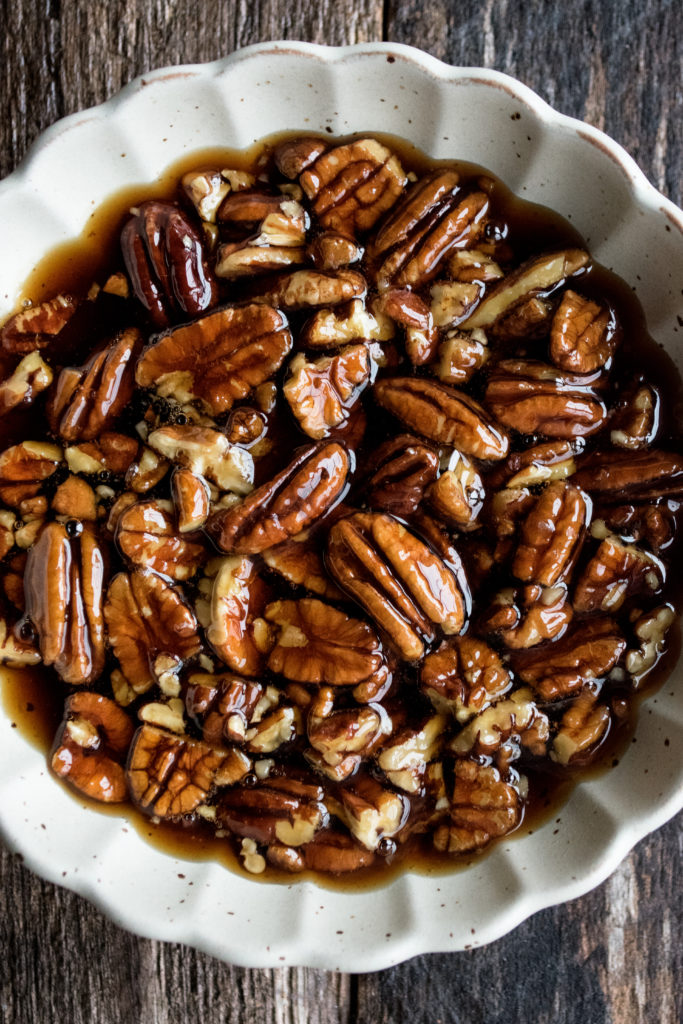Spiced Pecan Syrup