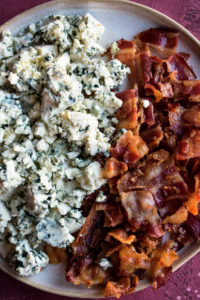 blue cheese & bacon