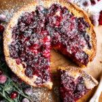 Spiced Mascarpone Cranberry Cake