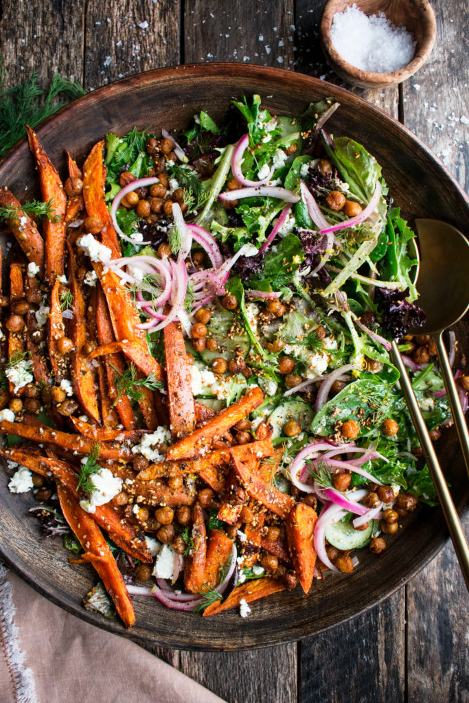 Spiced Sweet Potato Salad