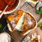 Fried Mozzarella Sandwiches