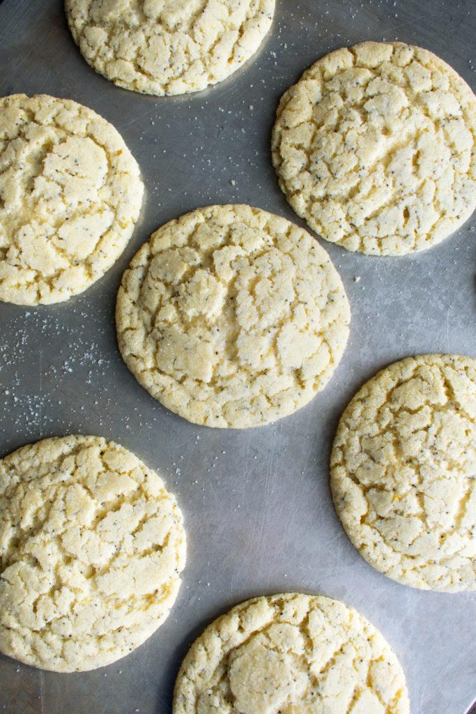 Lemon Poppy Seed Almond Cookies