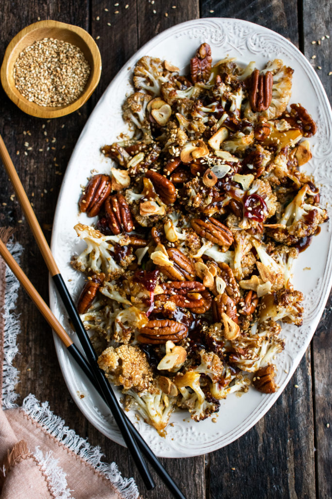 Spicy Sesame Cauliflower