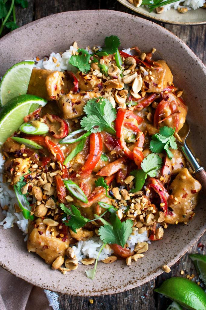Spicy Thai Peanut Chicken