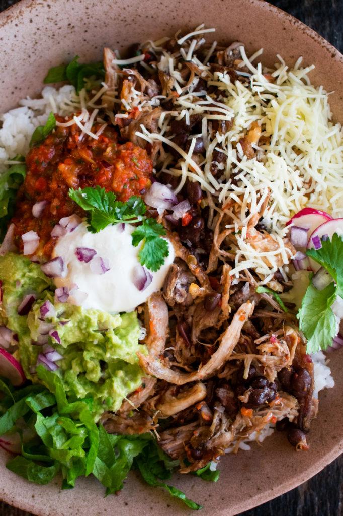 Carnitas Burrito Bowl