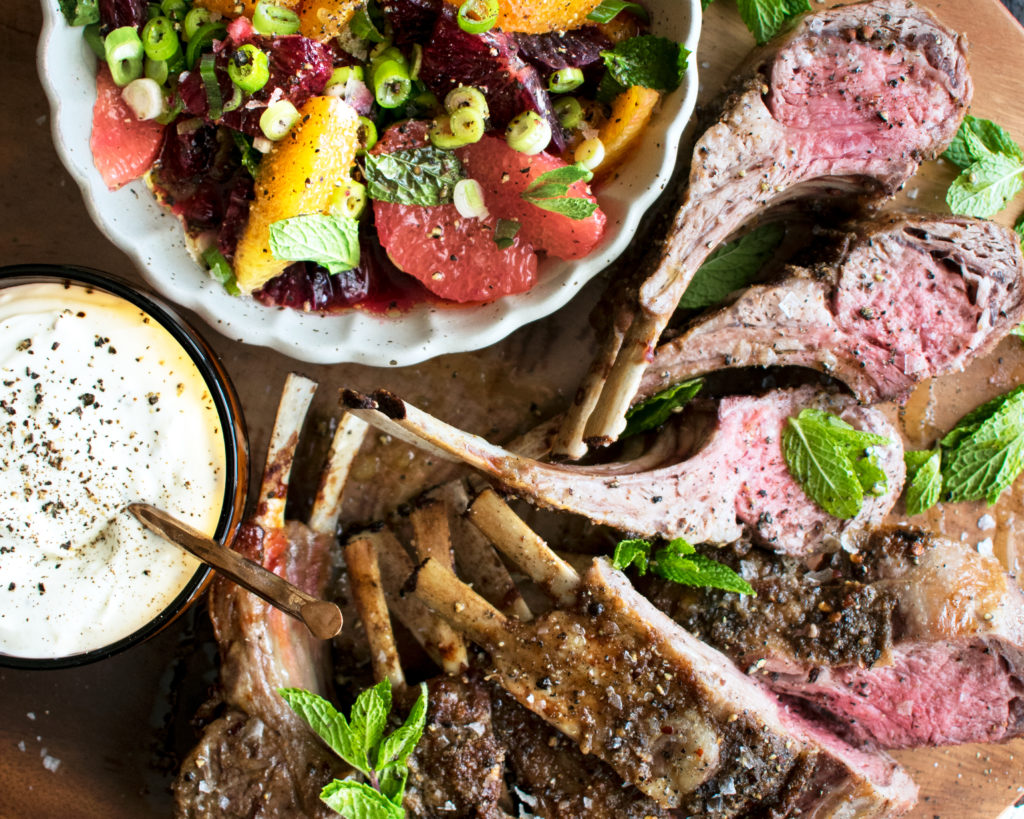 Spiced Rack of Lamb