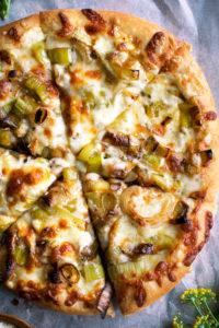 Caramelized Leek Pizza