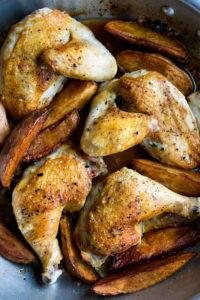 Dad's Chicken Vesuvio