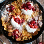 Skillet Croissant Bread Pudding