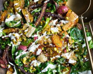Spring Root Vegetable Salad