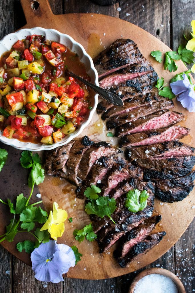 Mezcal-Marinated Skirt Steak