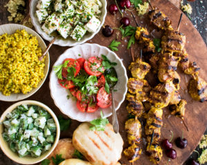 Summer Mezze Platter
