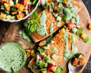 Green Goddess Salmon