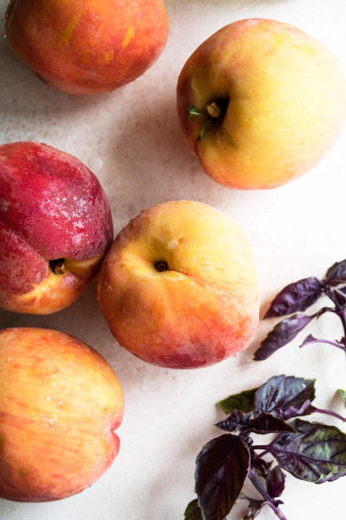 whole peaches
