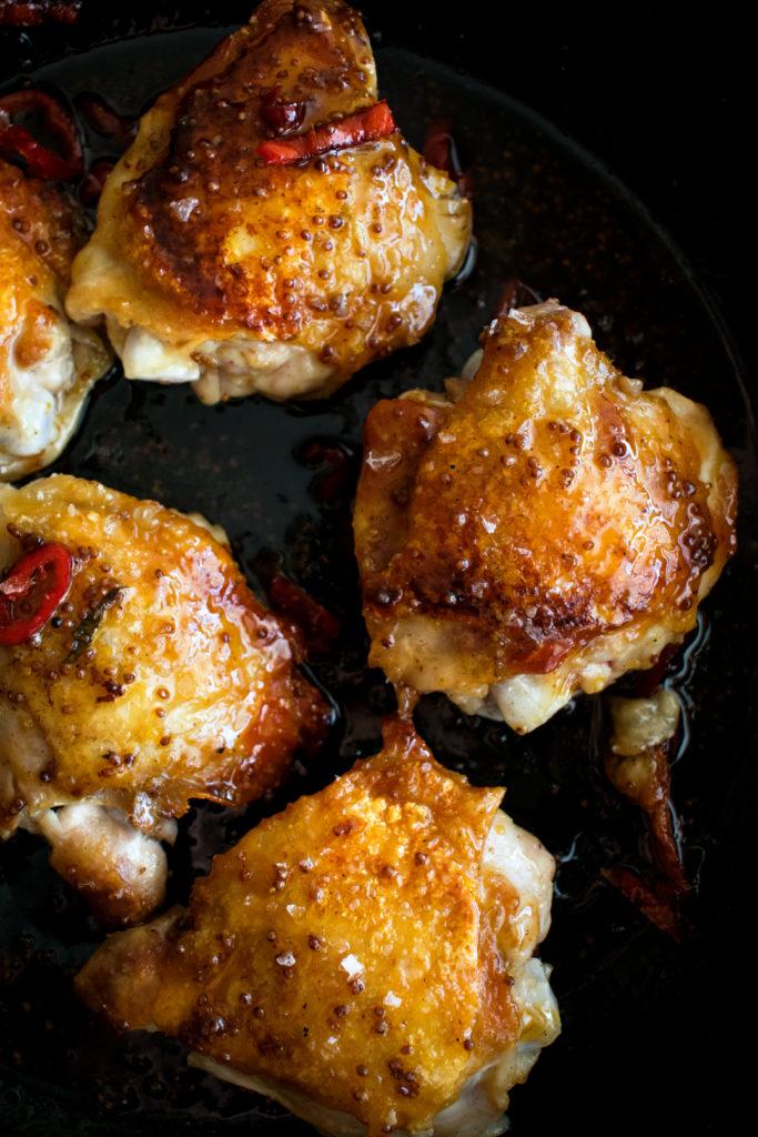 Spicy Maple Mustard Chicken
